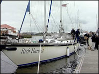 The Rich Harvest at Hartlepool marina