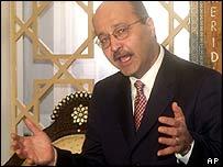 Iraqi Deputy Prime Minister Barham Saleh