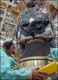 Anik F2, Arianespace
