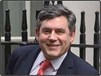 Chancellor of The Exchequer Gordon Brown leaving a Spending Review cabinet meeting at No 10 Downing Street