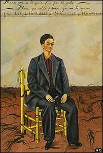 Frida Kahlo, self-portrait