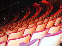 Theatre seating (pic courtesy Merlin Theatre)