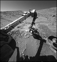 Rover instrument arm   Nasa