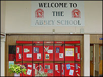 The Abbey School entrance