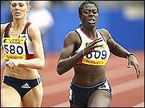 Christine Ohuruogu wins the Olympic Trials