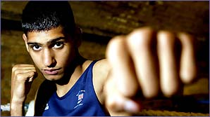 Amir Khan will fly the flag for Great Britain in Athens