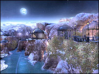 Screenshot from Myst IV Revelation