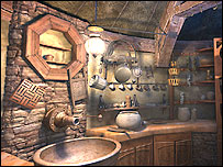 Screenshot from Myst IV Revelation