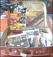 The suitcase which was thought to be full of Beatles memorabilia
