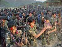 Nepal's Maoist rebels