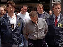 Ivankov after arrest by FBI in 1995