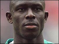 Nigeria midfielder Seyi George Olofinjana