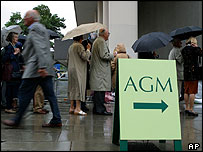 M&S shareholders gather at the AGM