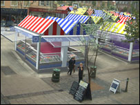The proposed new look for Norwich Market