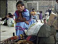 Indígena en Colombia
