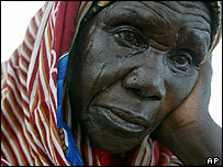 Darfur refugee in Chad
