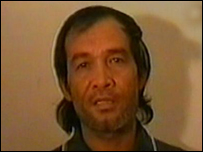 Angelo de la Cruz  (Al-Jazeera TV picture)