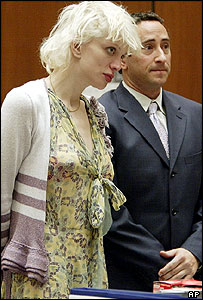Courtney Love and Michael Rosenstein