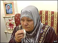Hussam's mother, Tamam Abdo