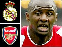 Will Patrick Vieira move to Real Madrid?