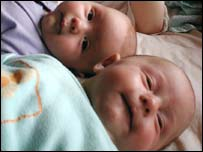 Image of two babies