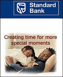 Standard Bank advert