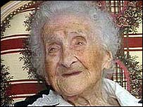 Jeanne Calment was 122 when she died in 1997