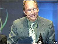 Sir Tim Berners-Lee, inventor of the web