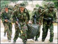 KORBR soldiers