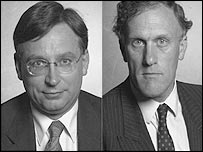 Andrew Dismore (left) and Julian Brazier