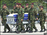 Natividad Méndez Ramos, soldado salvadoreño de 19 años, murió en combate en Irak.