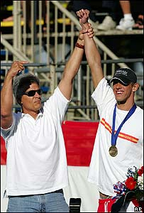 Mark Spitz y Michael Phelps