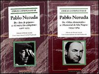 Obras Completas de Pablo Neruda.