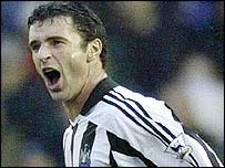 Newcastle's Gary Speed
