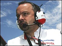 Toyota technical director Mike Gascoyne