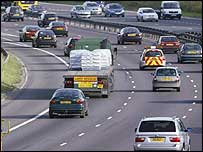 Cars on motorway - generic