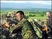 South Ossetia militants