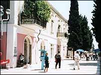 Street scene in Baku