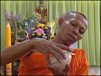 Last rites monk