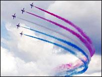 Red arrows air display team