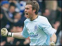 Derby goalkeeper Lee Camp