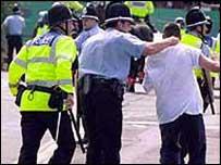 Image of aggressive behaviour