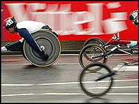 Maratón de Londres 2004.