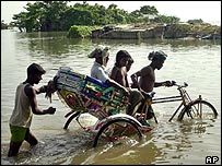 Bangladeshi flood victims