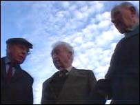 Three Irish veterans