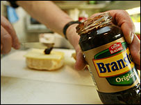 Branston pickle jar