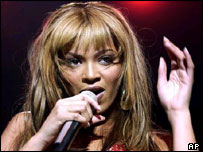 Sony artist Beyonce