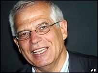 European parliament president Josep Borrell
