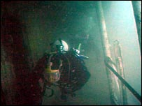 Divers on Scylla wreck