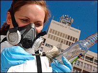 Forensics trainee